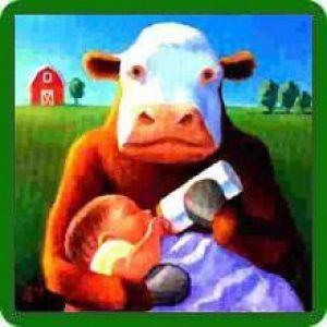 Алергія на коров`ячий білок у грудничка