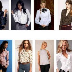Блузки для повних жінок, які їх стрункою. Зшити своїми руками