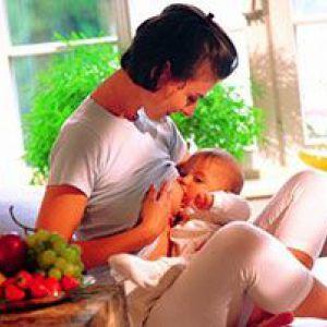 Що їдять при грудному вигодовуванні?