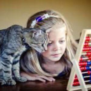 Діти і кішки