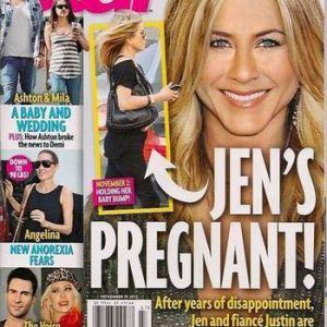 Дженіфер еністон вагітна