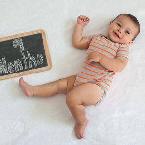 Фізичне, психічне і мовленнєвий розвиток 9-місячну дитину