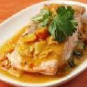 Риба, запечена в молочному соусі (від 3 до 7 років)