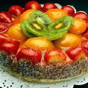 Фруктовий торт