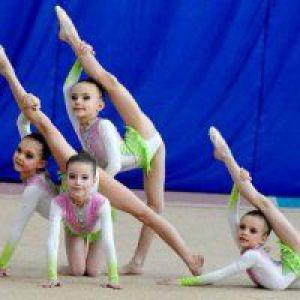 Гімнастика для дітей 6 років