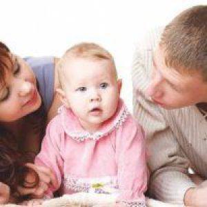 Як навчити дитину говорити тато?