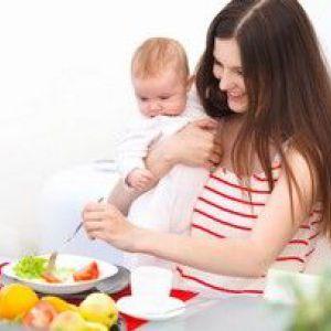 Якою має бути дієта годуючої мами?