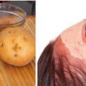 Картопляна маска для обличчя. Сира і варена картопля в рецептах