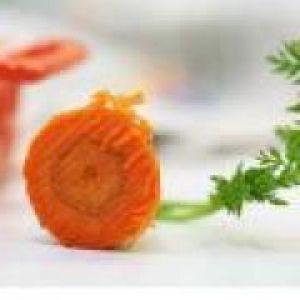 Картопляне пюре з морквою (від 1 року до 1,5 років)
