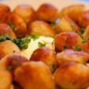 Картопляні галушки з м`ясом (від 3 до 7 років)