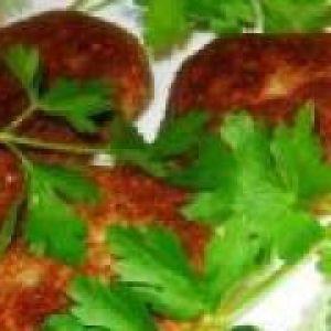 Картопляні котлети (від 1.5 року до 3 років)