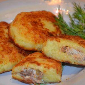 Картопляні зрази з м`ясом