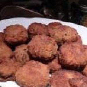 Котлети з риби і картоплі (від 3 до 7 років)