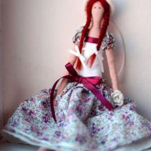 Лялька тильда своїми руками. Фото і відео