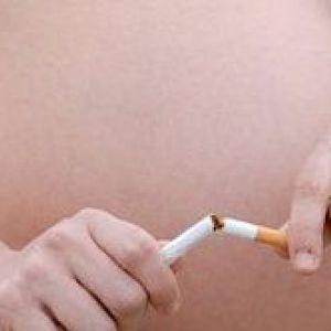 Куріння на ранніх термінах вагітності