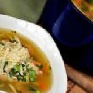 Курячий суп з гречаною крупою (від 3 до 7 років)