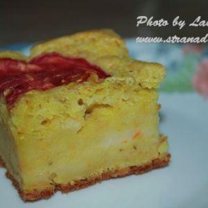 Лінивий овочевий пиріг