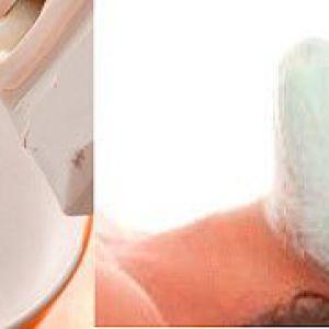 Молочні маски з желатином, медом, борошном, рисом за рецептами