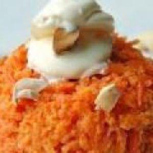 Морквяно-яблучний пудинг (від 1.5 року до 3 років)