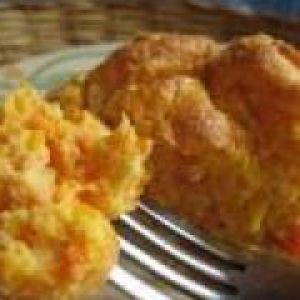 Морквяне парове суфле (від 1 року до 1,5 років)