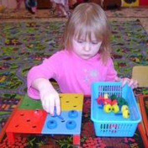Особливості сенсорного виховання дітей дошкільного віку