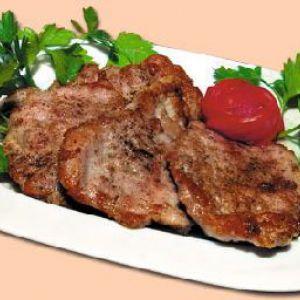 Відбивні з яловичини