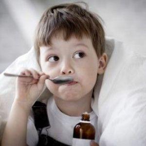 Відхаркувальний засіб для дітей
