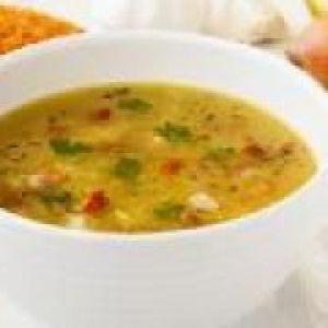 Овочевий суп на м`ясному бульйоні (від 1.5 року до 3 років)