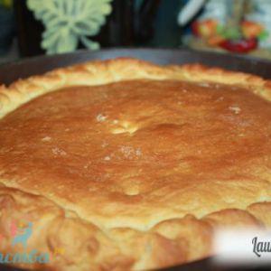 Пиріг з картоплею і зеленню