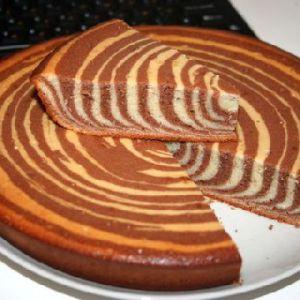 Пиріг зебра