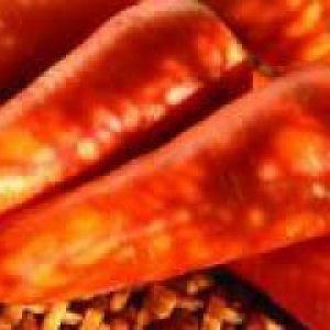 Пюре з моркви (до 1 року)