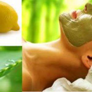Підтягують маски з алое або соку лимона за рецептами