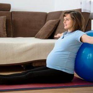 Корисні вправи при вагітності