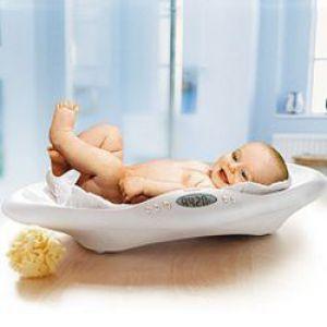 Збільшення ваги у новонародженого