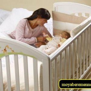 Привчити дитину спати в ліжечку