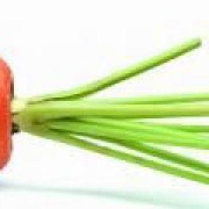 Пудинг з моркви і яблук (до 1 року)