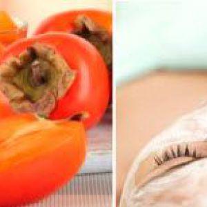 Рецепти масок з хурми для омолодження шкіри обличчя