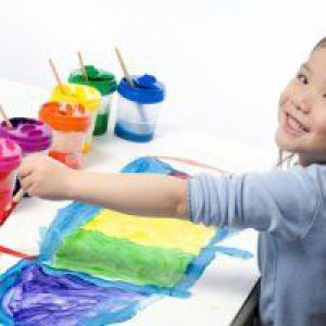 Малювання фарбами для дитини 4 років