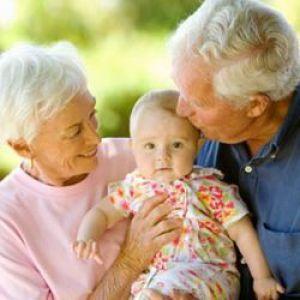 Роль бабусі і дідусі в вихованні дитини