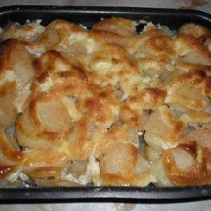 Риба з картоплею в духовці