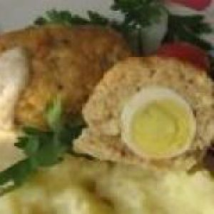 Рибні зрази з яйцем (від 1 року до 1,5 років)