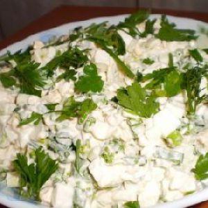 Салат з черемші