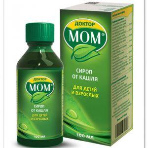 Сироп доктор мом - лікуємо кашель у дитини. Що потрібно знати мамі?