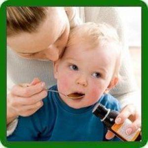 Сироп від кашлю для немовлят