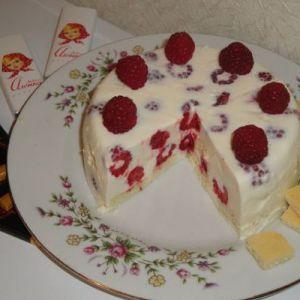 Сніговий десерт