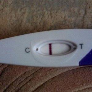 Струменевий тест на вагітність