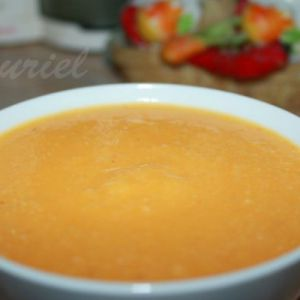 Суп-пюре овочевий