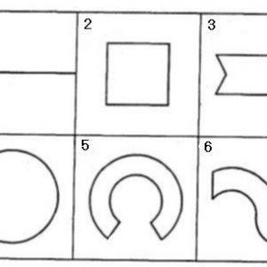 Тест `виріж фігури`