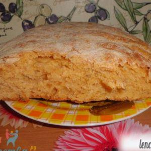 Томатний хліб з часником і кмином