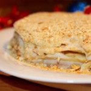 Торт «наполеон» до нового року